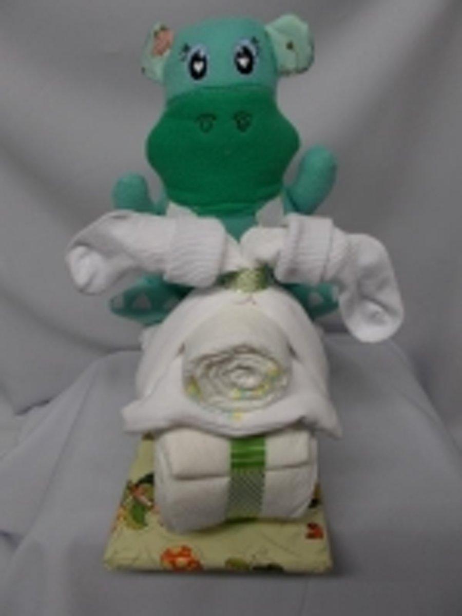 brommer klein hippo groen kopen