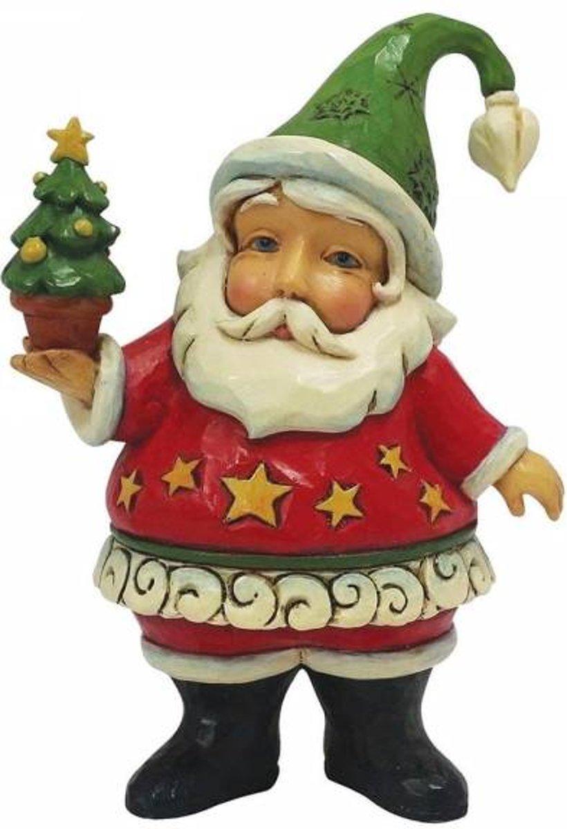 Jim Shore: Mini kerstman met kerstboom Beelden & Figuren kopen