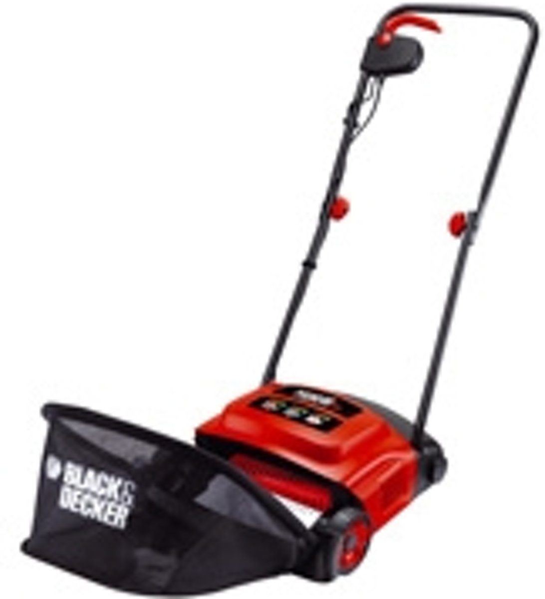 BLACK+DECKER - GD300-QS - Verticuteermachine  - 600W voor €49,73