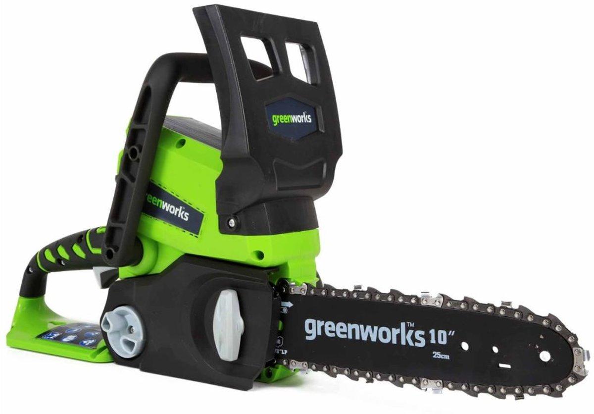 Greenworks Kettingzaagset met 24 V 2 Ah accu G24CS25 25 cm 2000007UA