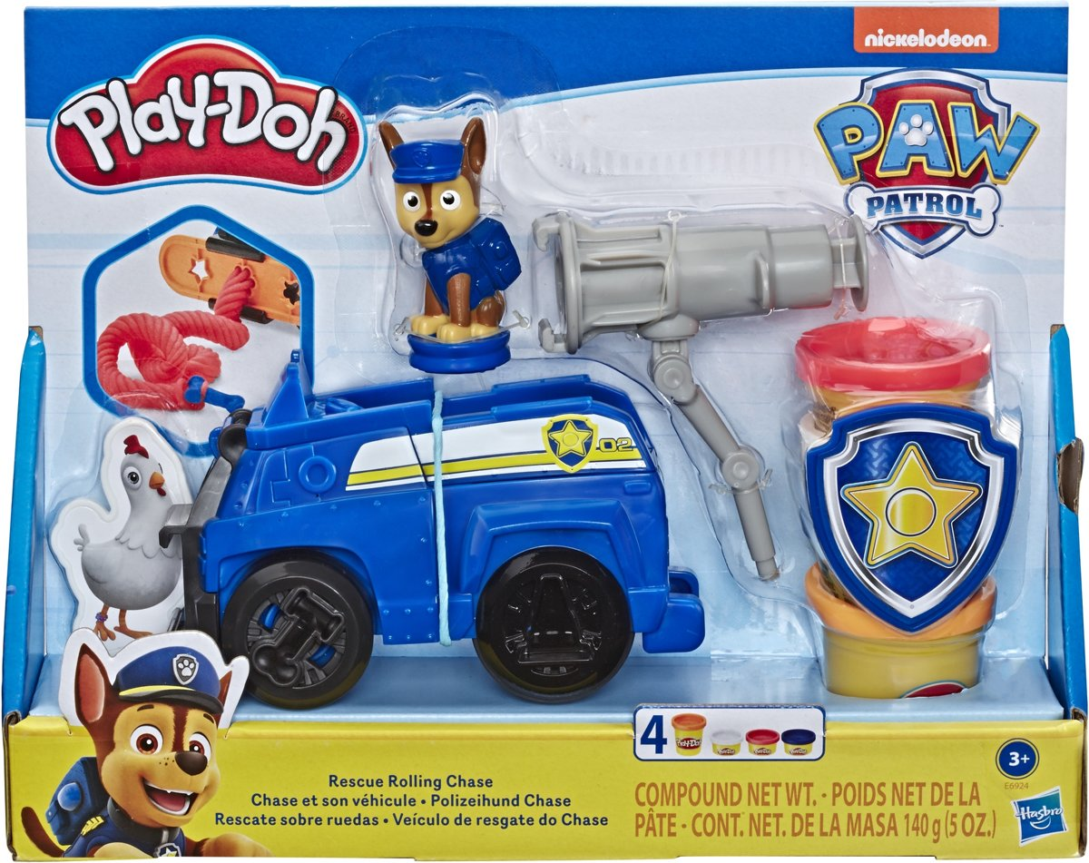 Play-Doh Paw Patrol Chase - Klei Speelset