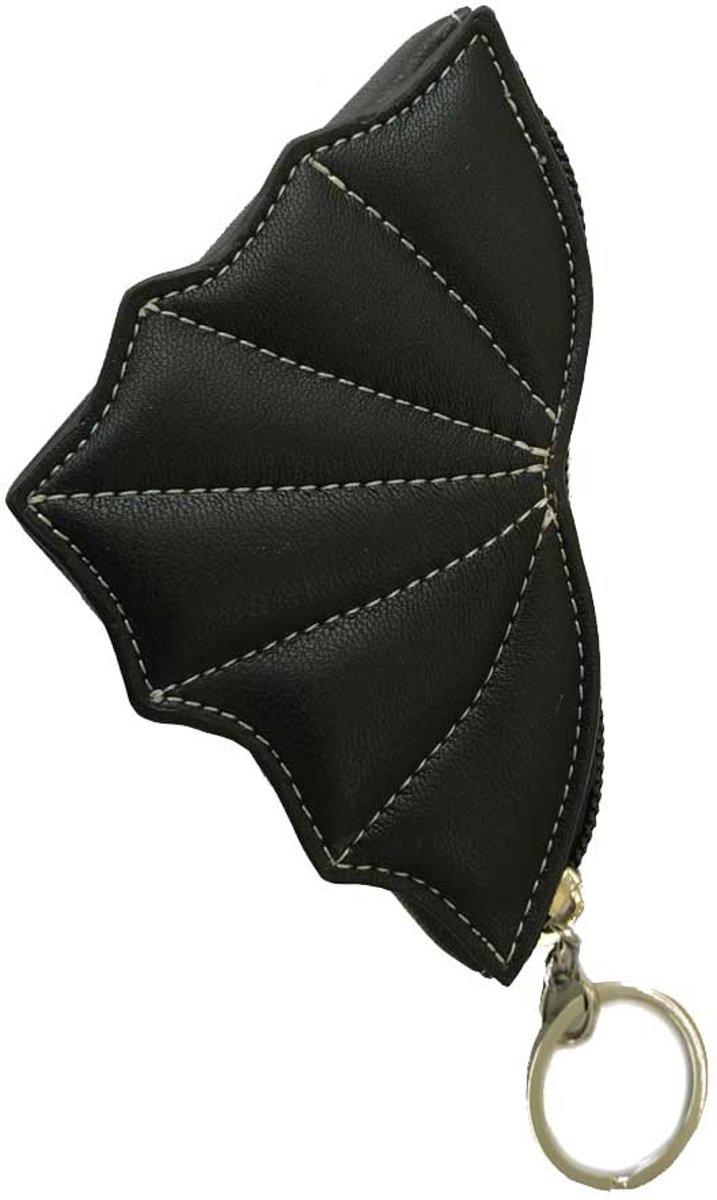Doom Shadow Bat vleermuis portemonnee zwart - Gothic Metal - Banned kopen