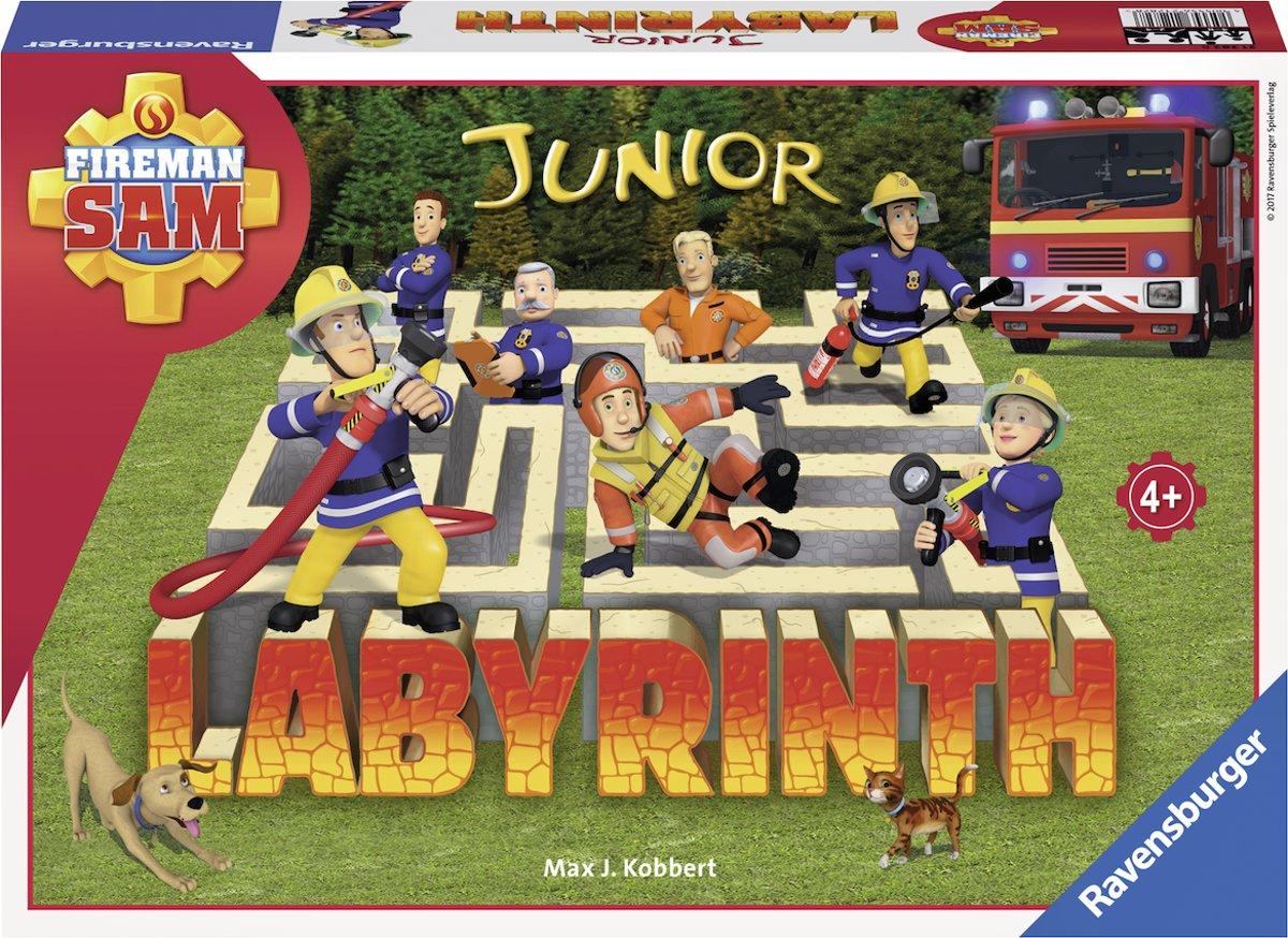 Bolcom Ravensburger Fireman Sam Junior Labyrinth Kinderspel