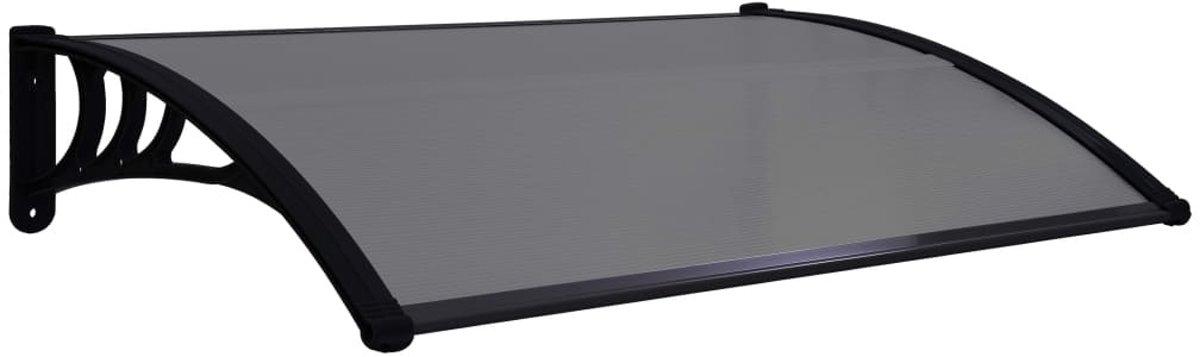 Deurluifel 150x80 cm PC zwart