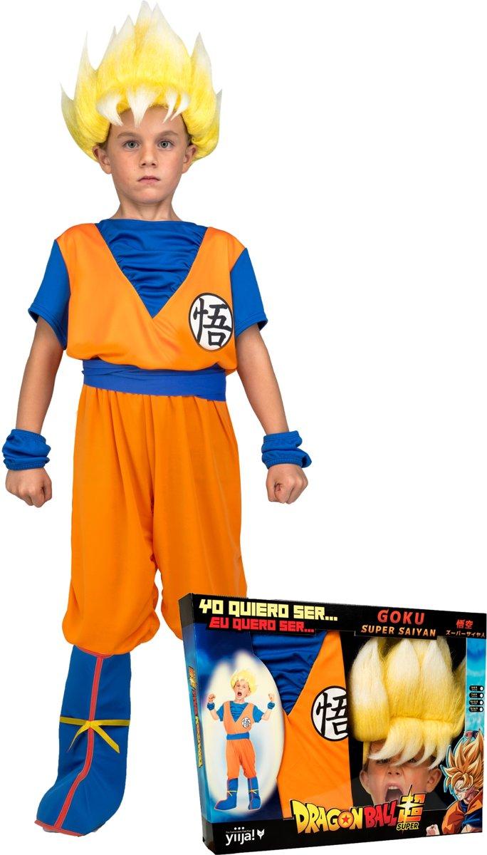 Super Saiyan Goku Dragon Ball Z™ kostuum voor jongens - Verkleedkleding kopen