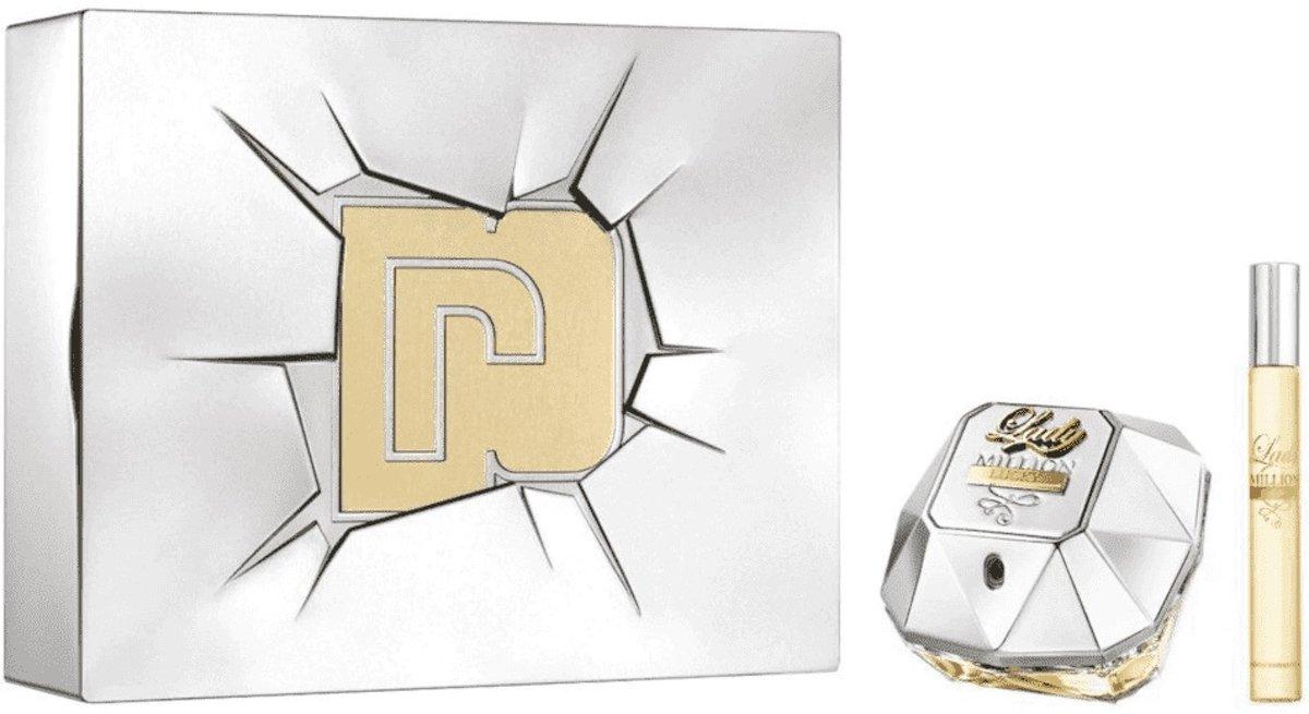 Paco Rabanne Lady Million Lucky Eau de Parfum 80ml + EdP Mini 10ml kopen