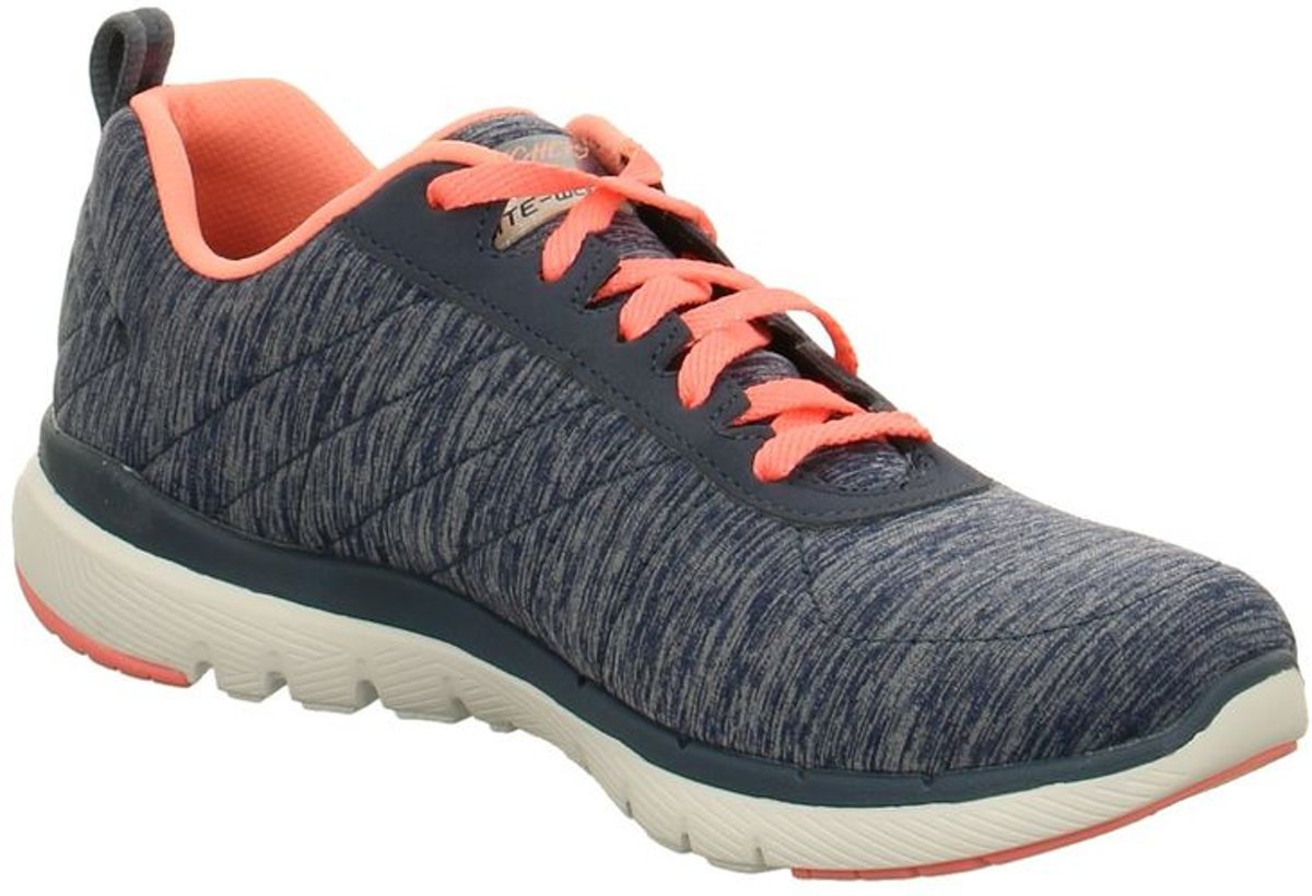 Buy Skechers Mens Blue Orange Skech Air Infinity Running