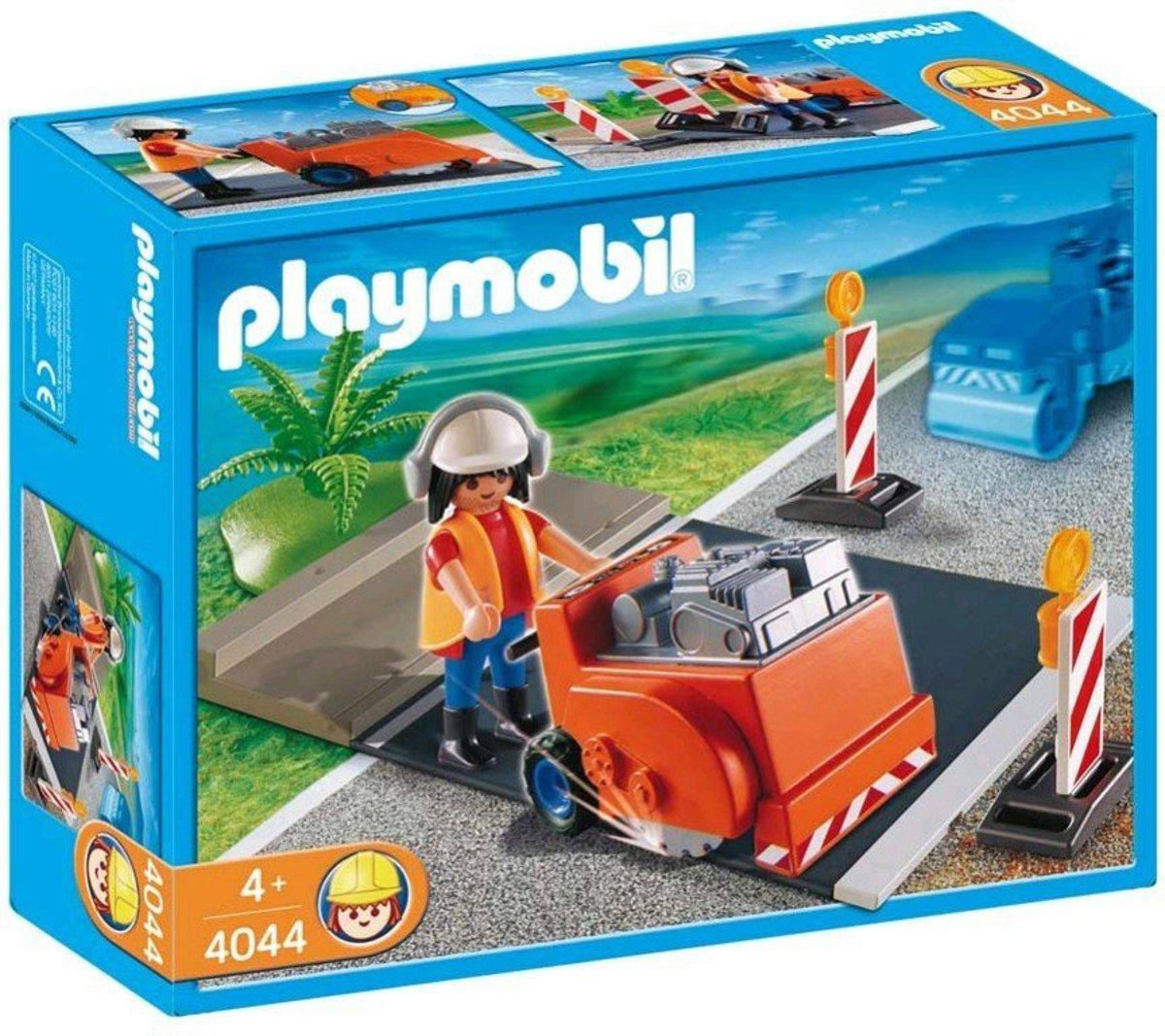 Playmobil Asfalt Zaagmachine voor Kinderen ? 25x20x8cm | Speelgoed voor Jongens en Meisjes | Playmobil Wereld Maken
