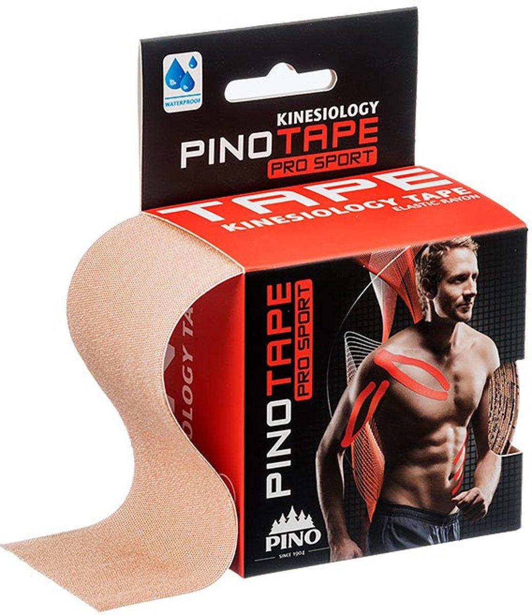 Fysiotape pro sport kinesiology medical tape beige 5cm kopen