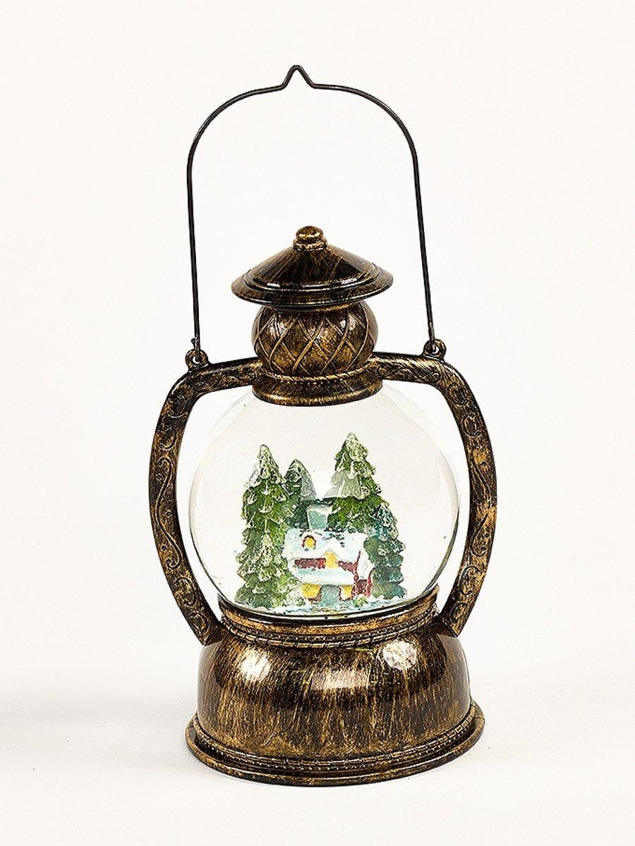 Waterbal lantaarn met licht B/O Kersthuis kopen