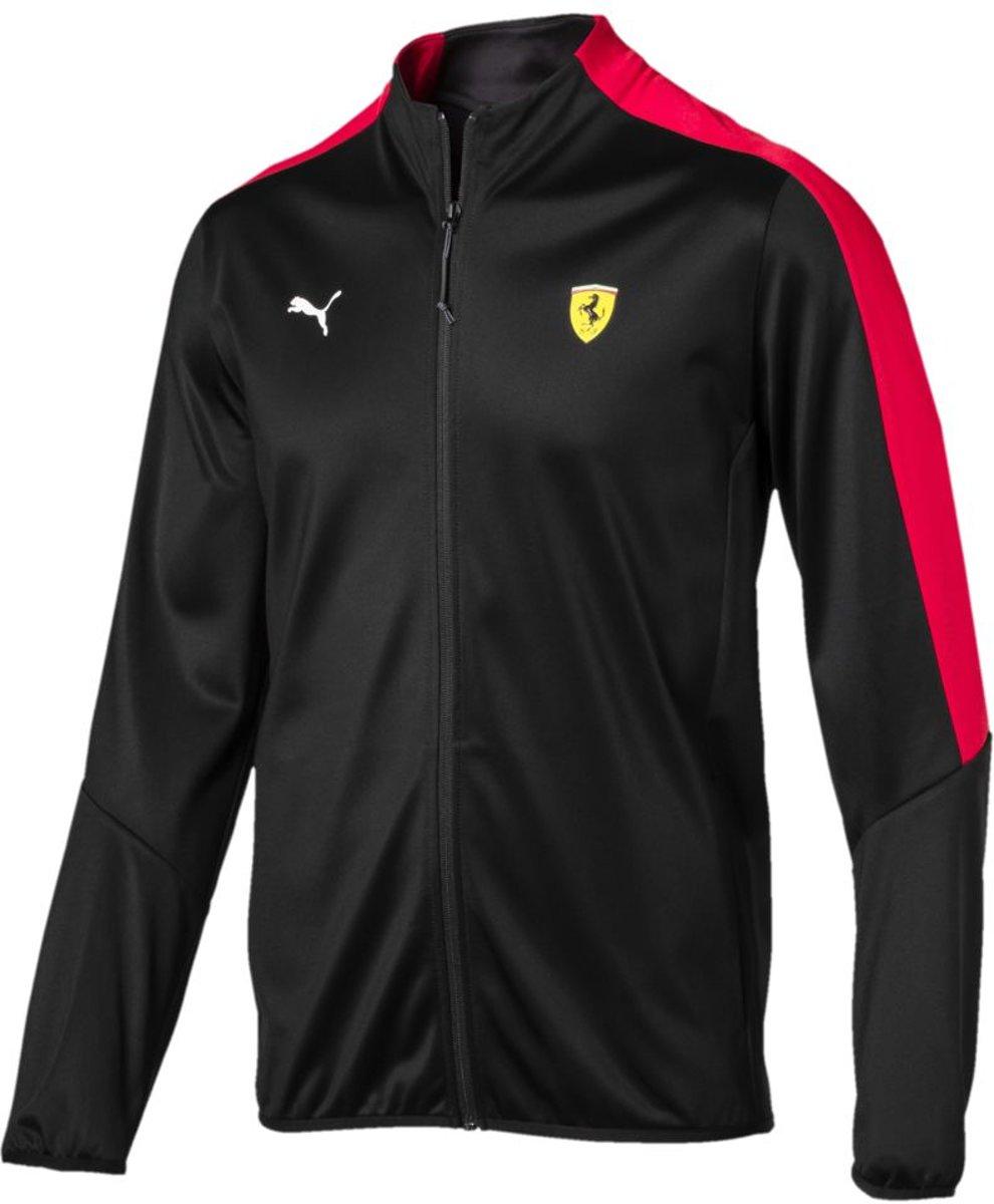PUMA Ferrari T7 Track Jacket Trainingsjas Heren - Puma Black