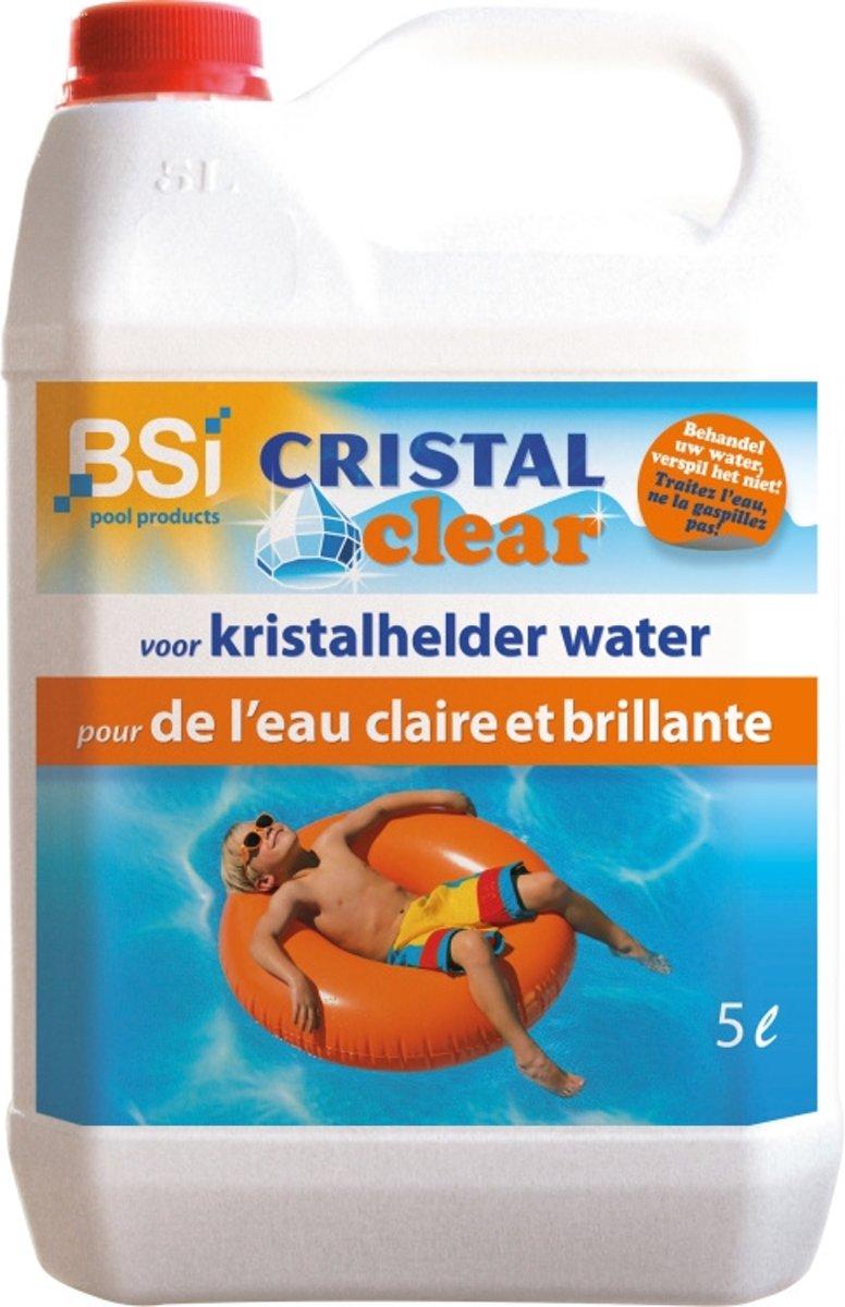 Cristal clear 5 L - voor kristalhelder zwembadwater