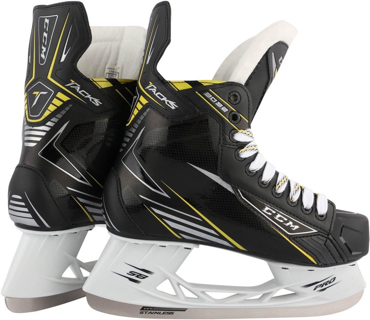 Ccm Ijshockeyschaatsen Tacks 3092 Unisex Zwart Maat 48