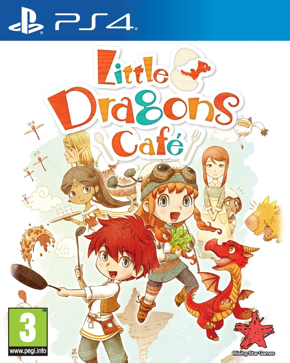 Little Dragons Café PlayStation 4
