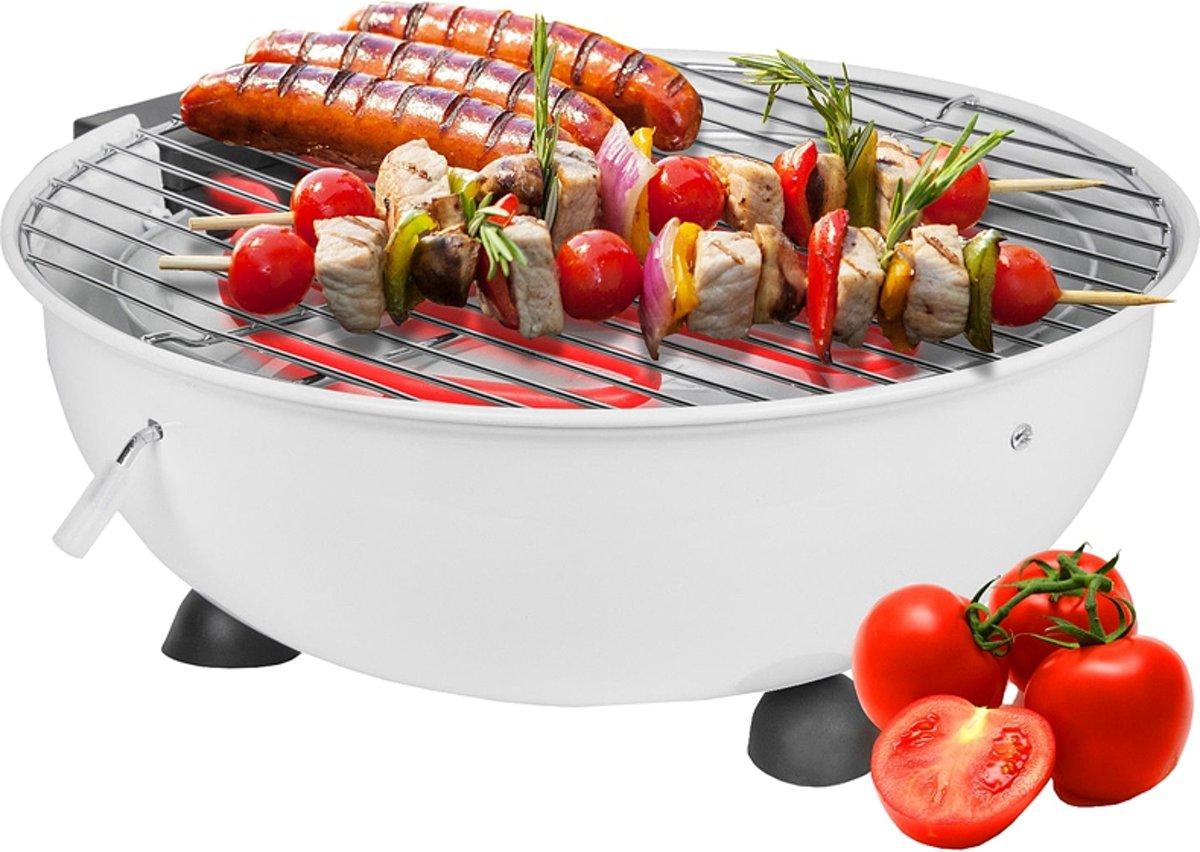Cuisinier Elektrische Tafelbarbecue - Wit kopen