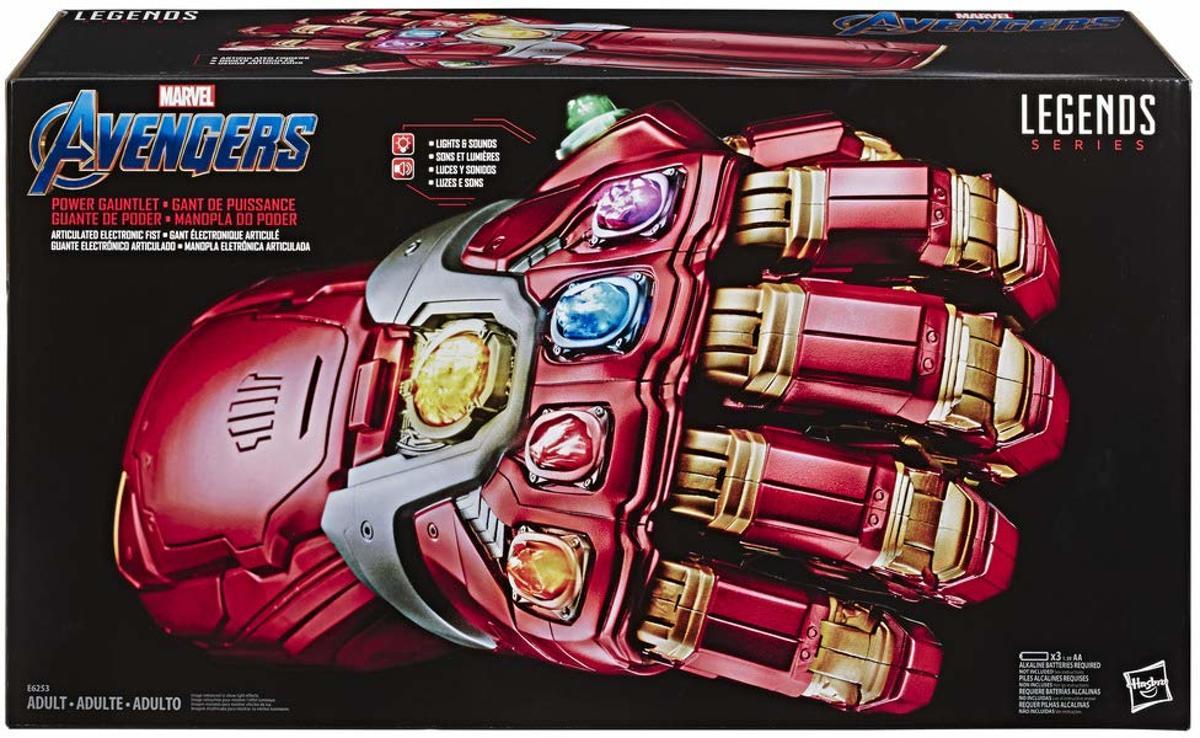 Marvel Legends Series Avengers Endgame Power Gauntlet Articulated Electronic Fist ( Beperkt Leverbaar Vanaf Half Juli !! )