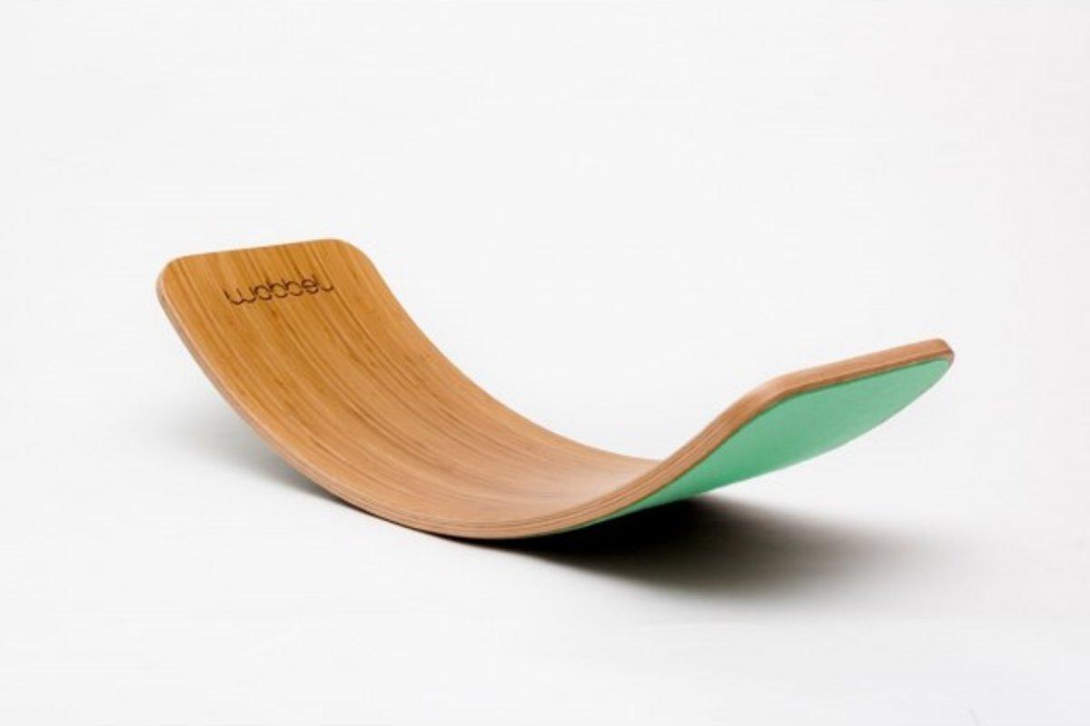 Wobbel Original Bamboo Met Vilt Mint kopen
