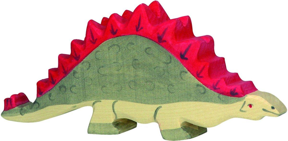 Holztiger Houten dinosaurus: stegosaurus kopen