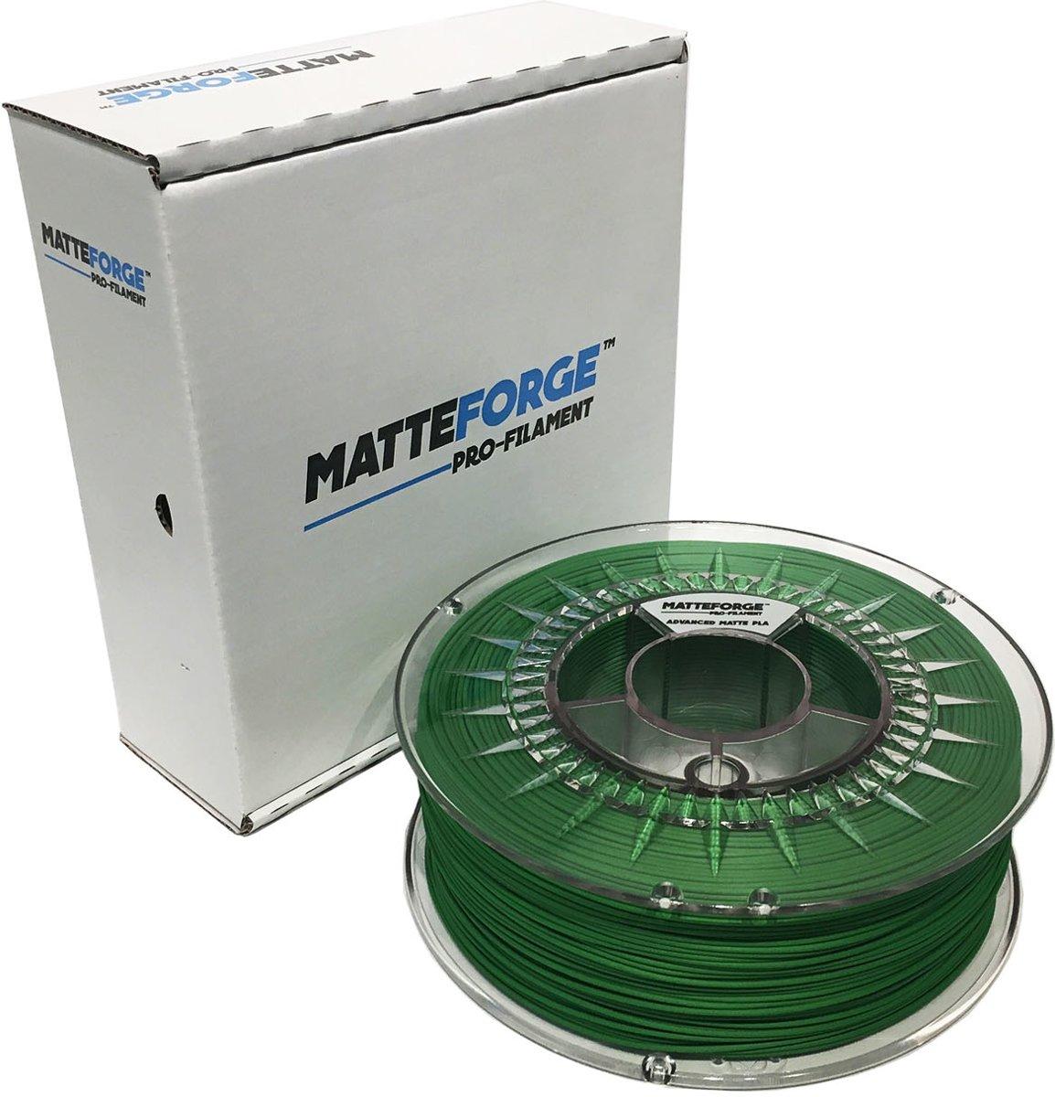 Matteforge PRO PLA sterk als ABS - 1 kg (1.75 mm) - GROEN