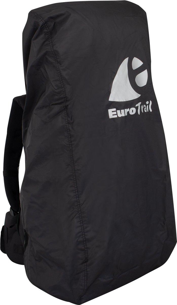 Eurotrail Regenhoes/flightbag voor backpack - tot 55 liter - Zwart kopen