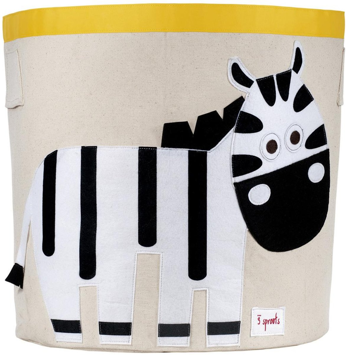3 Sprouts - Storage bin Zebra