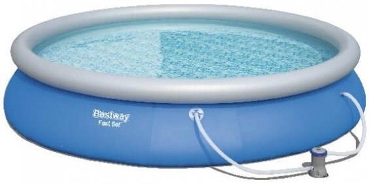 Bestway Opblaaszwembad Fast Met Filterpomp Rond 274 Cm Blauw