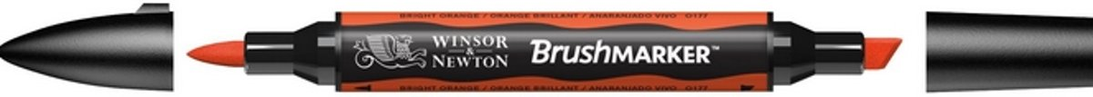 Winsor and Newton BrushMarker Bright Orange 0177