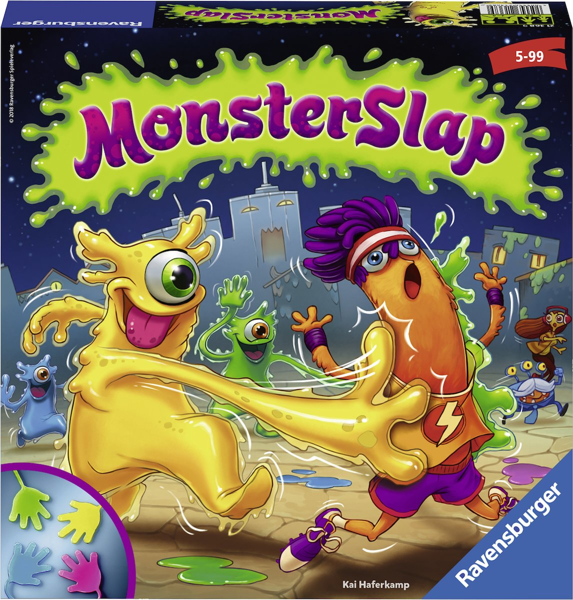 Ravensburger Monster Slap - kinderspel