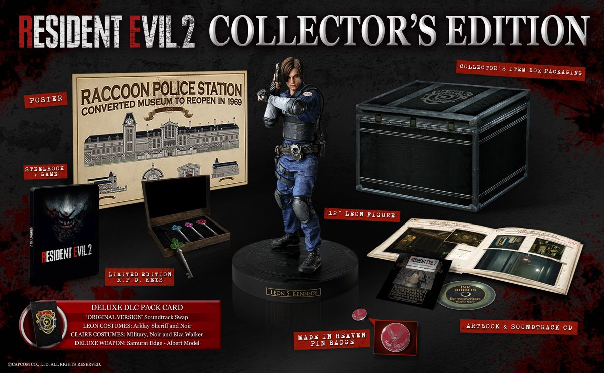 Resident Evil 2 HD - Collector's Edition PlayStation 4