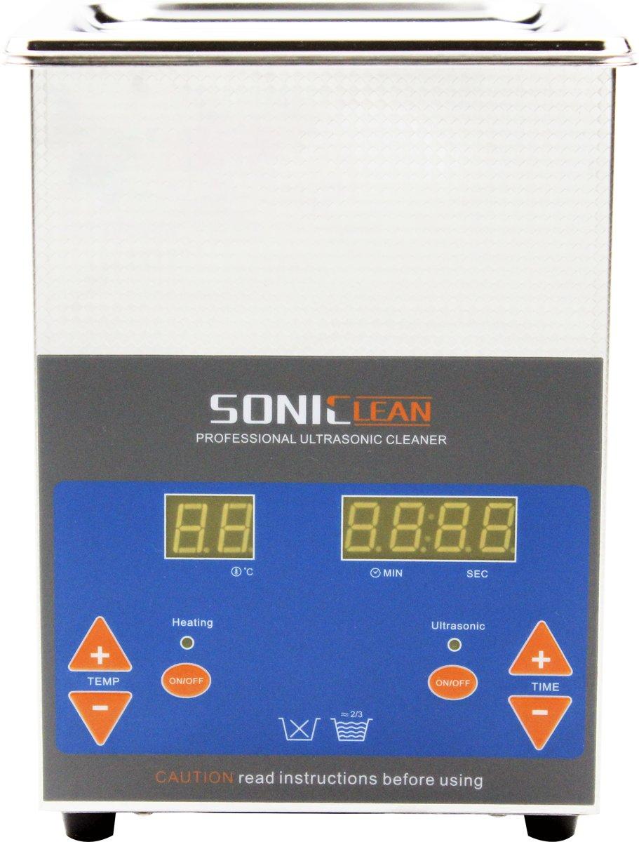 SonicClean ultrasoon reiniger ultrasone reiniger 2L kopen