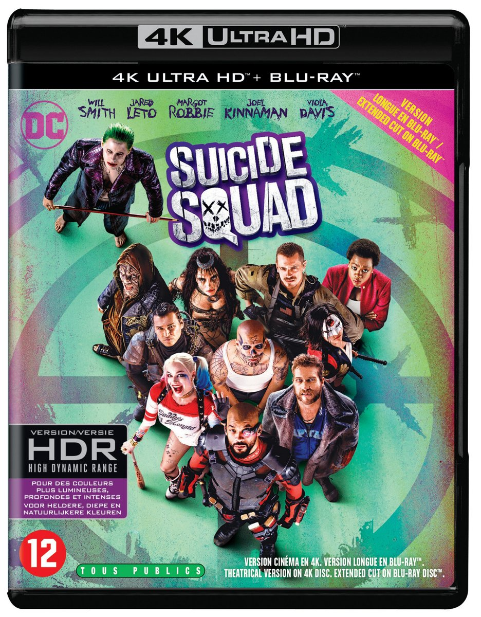 Suicide Squad (4K Ultra HD Blu-ray)-