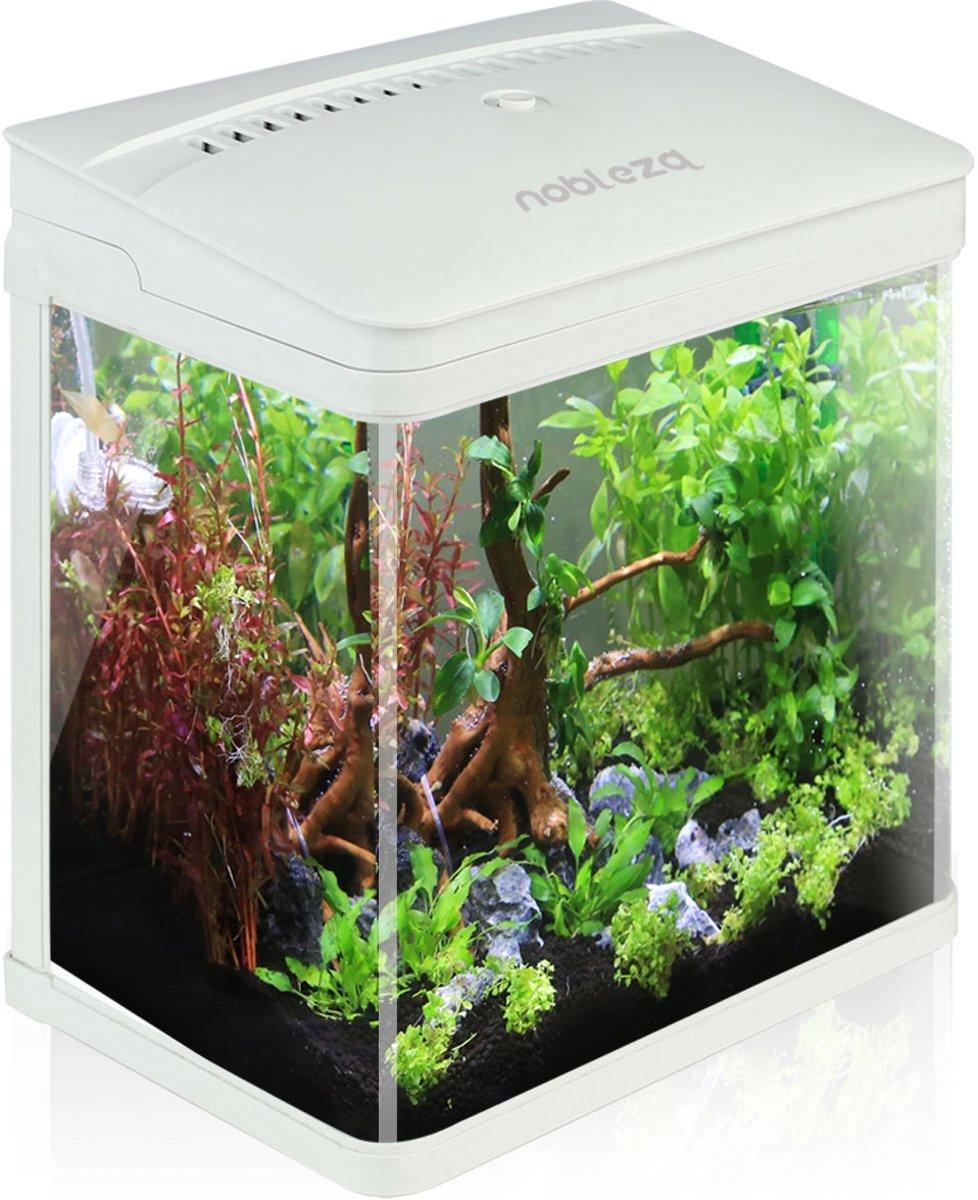 Nobleza aquarium - 7L - wit kopen