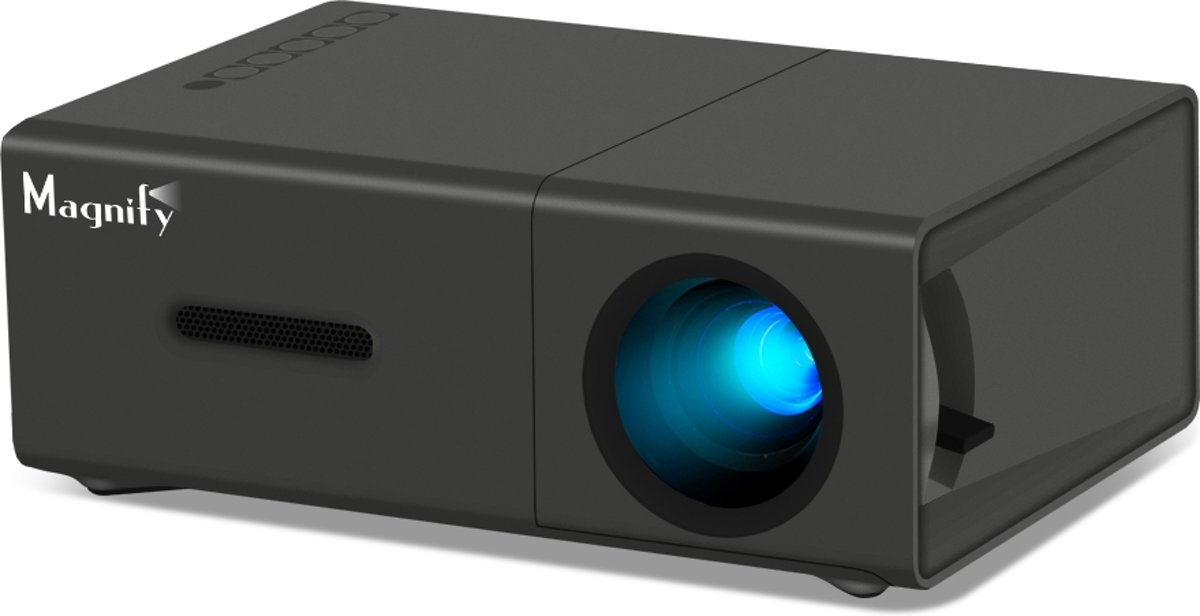 Mini Projector - Portable Mini Beamer - Full HD - Presentaties - Video - Games kopen