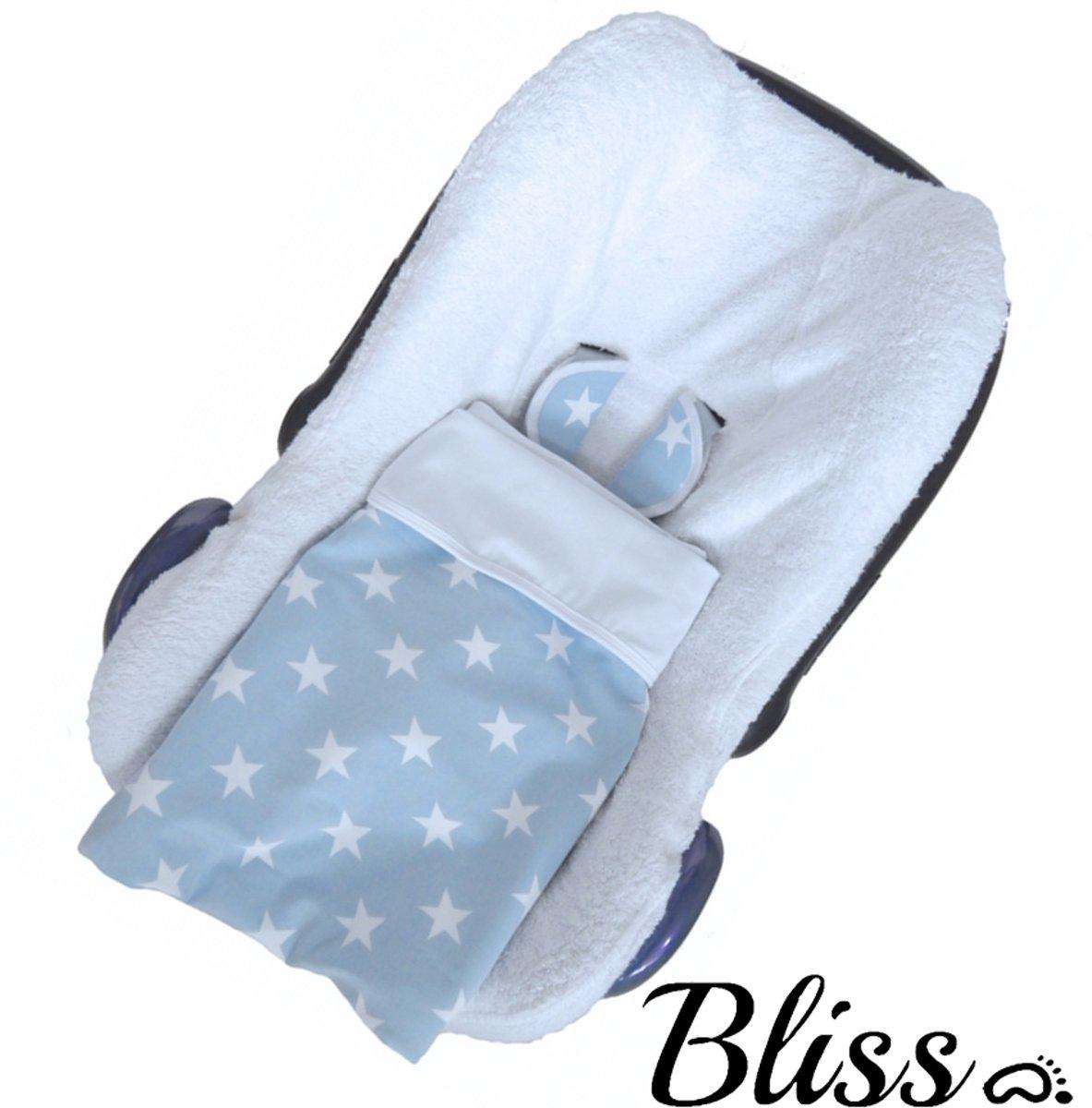 Baby Deken Ster Lichtblauw - 75x90cm