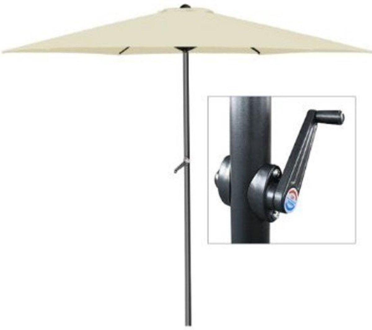 parasol kopen online fabulous pro garden parasol rond. Black Bedroom Furniture Sets. Home Design Ideas