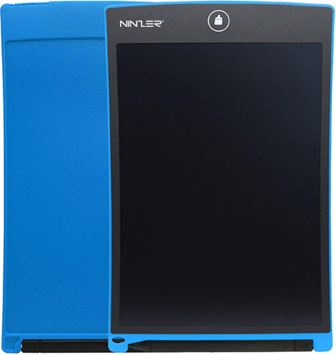 Ninzer Ultra Dunne Digitale lcd Schrijf en Tekenen Tablet met Stylus Pen, 8,5 inch | Blauw kopen