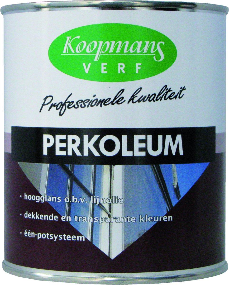 Koopmans Perkoleum Beits Wit 201 Dekkend Hoogglans 2,5 liter