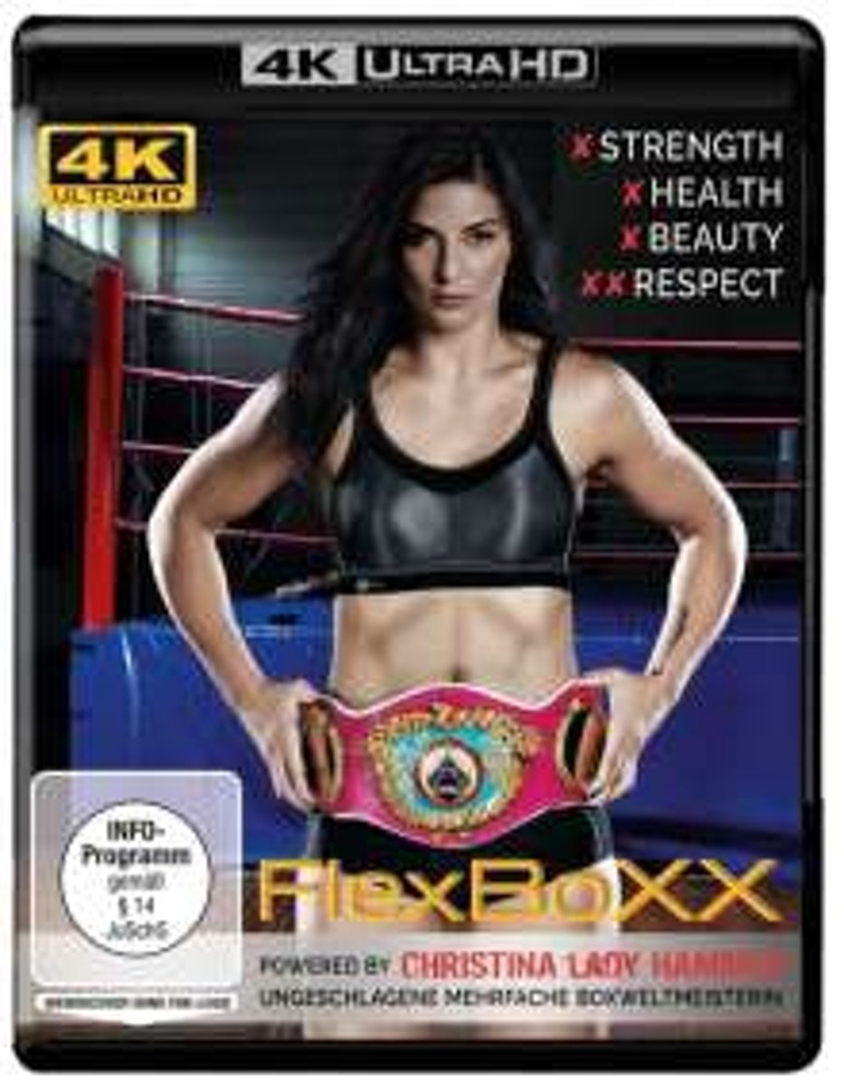 FlexBoxx powered by Christina Hammer (Ultra HD Blu-ray)-