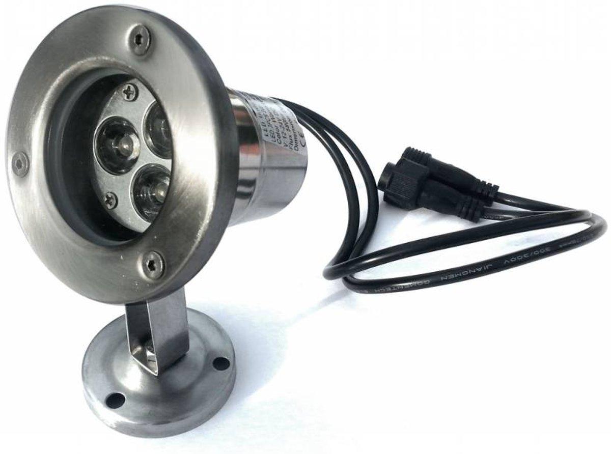 LED Outdoor Onderwater spot 9W warm wit IP68