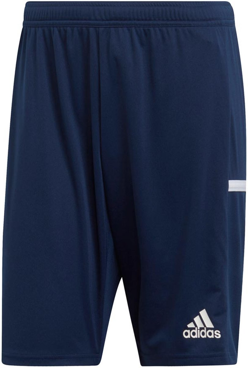 Adidas Team 19 Knit Short Shorts blauw donker 3XL