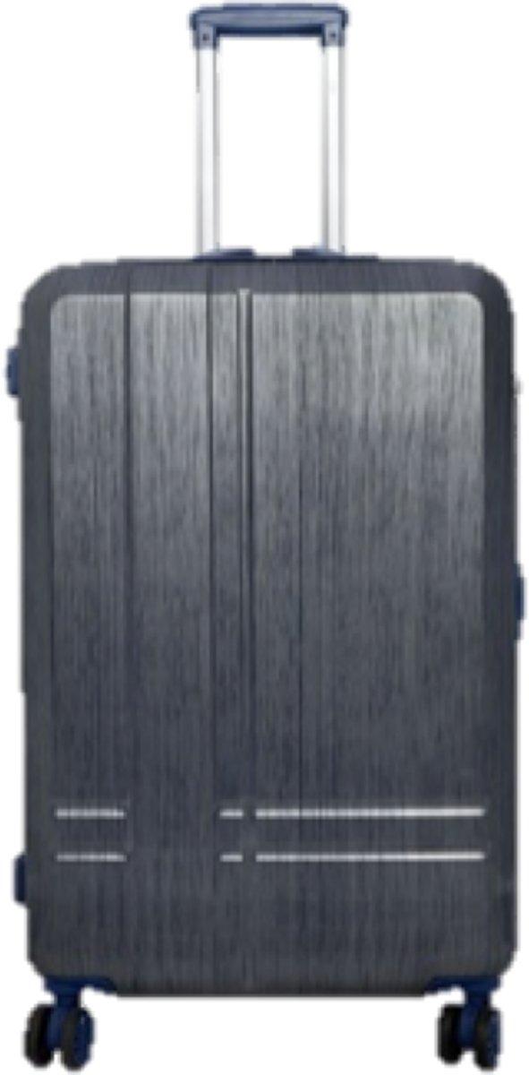 reiskoffer travelsuitcase lichtgewicht 68cm 100% polycarbonaat / volume 67 l Samos blauw kopen