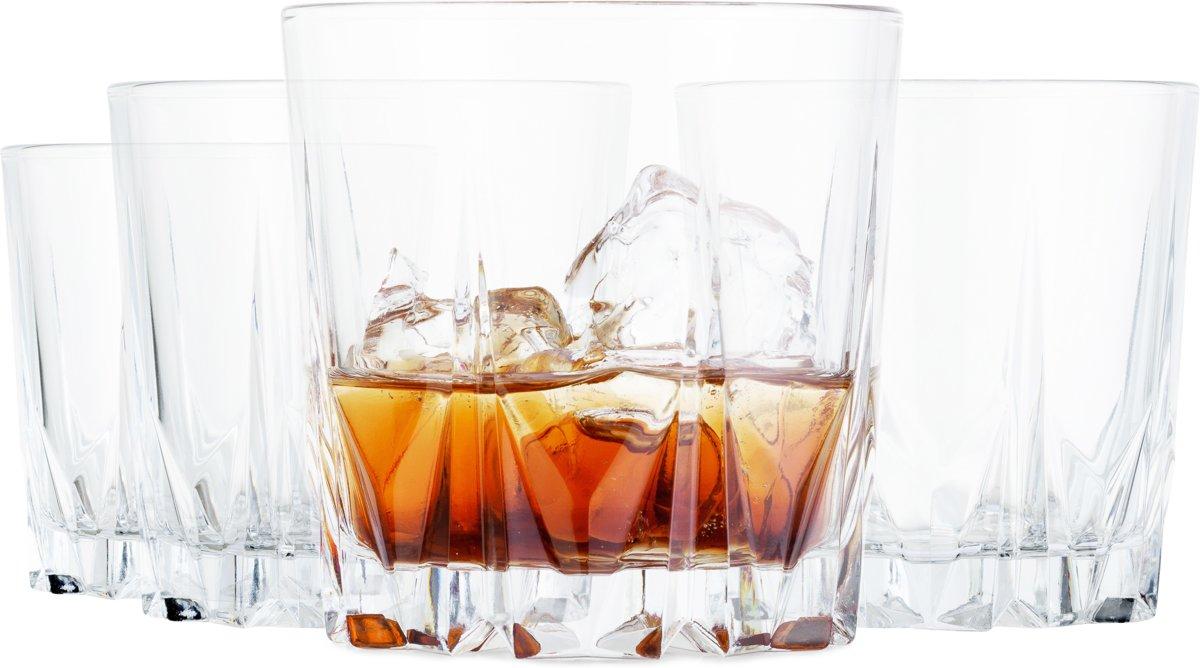 Tivoli Style Setter Whiskyglazen - 350 ml - 4-delig - Vaatwasserbestendig kopen