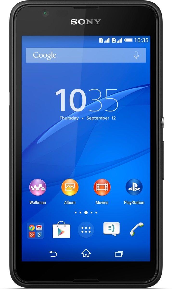 Sony Xperia E4g - 8GB - Zwart kopen