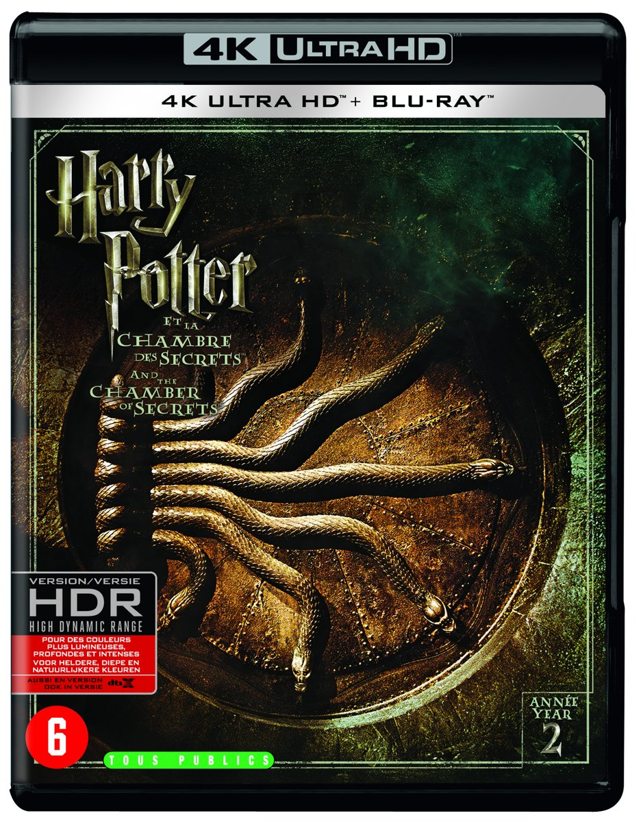 Harry Potter And The Chamber Of Secrets (4K Ultra HD Blu-ray)-
