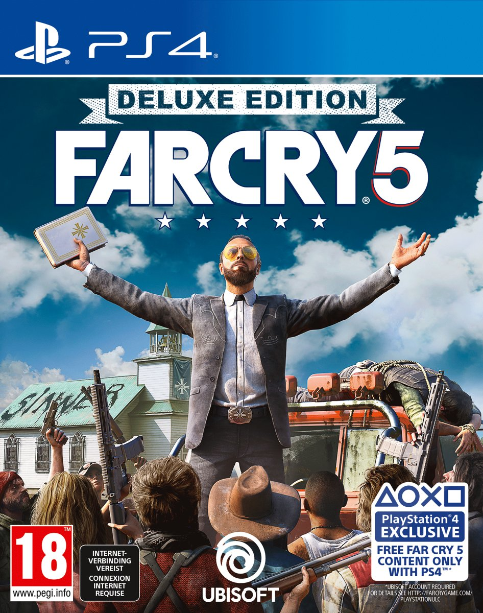 Far Cry 5 - Deluxe Edition PlayStation 4