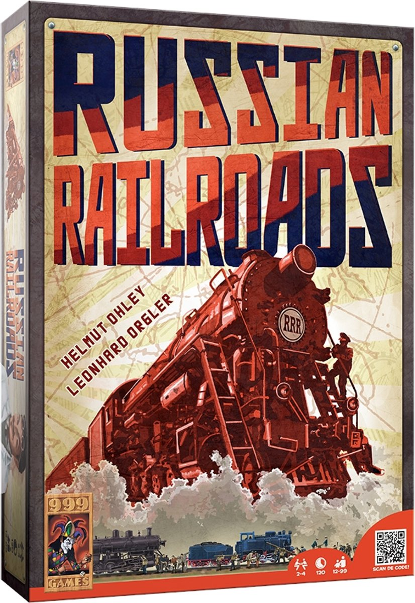 Russian Railroads - Bordspel