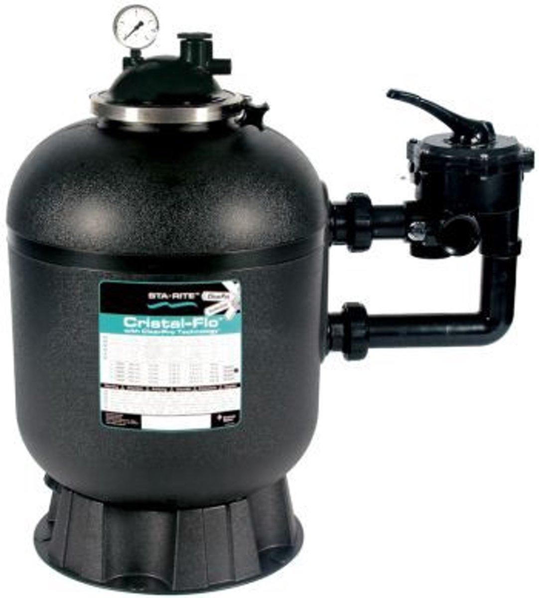 STA-RITE CRISTAL-FLO™ ZANDFILTER MET CLEARPRO TECHNOLOGY® SM-600 Ø60cm
