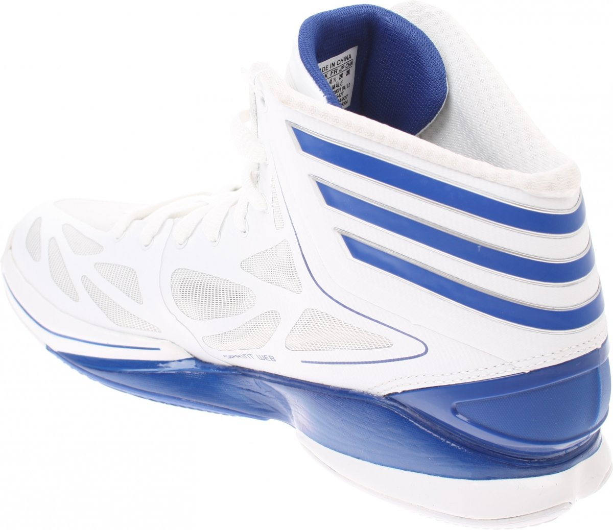 super popular 18e6f 46fd1 bol.com  Adidas Adizero Crazy Light Basketbalschoenen Wit Bl