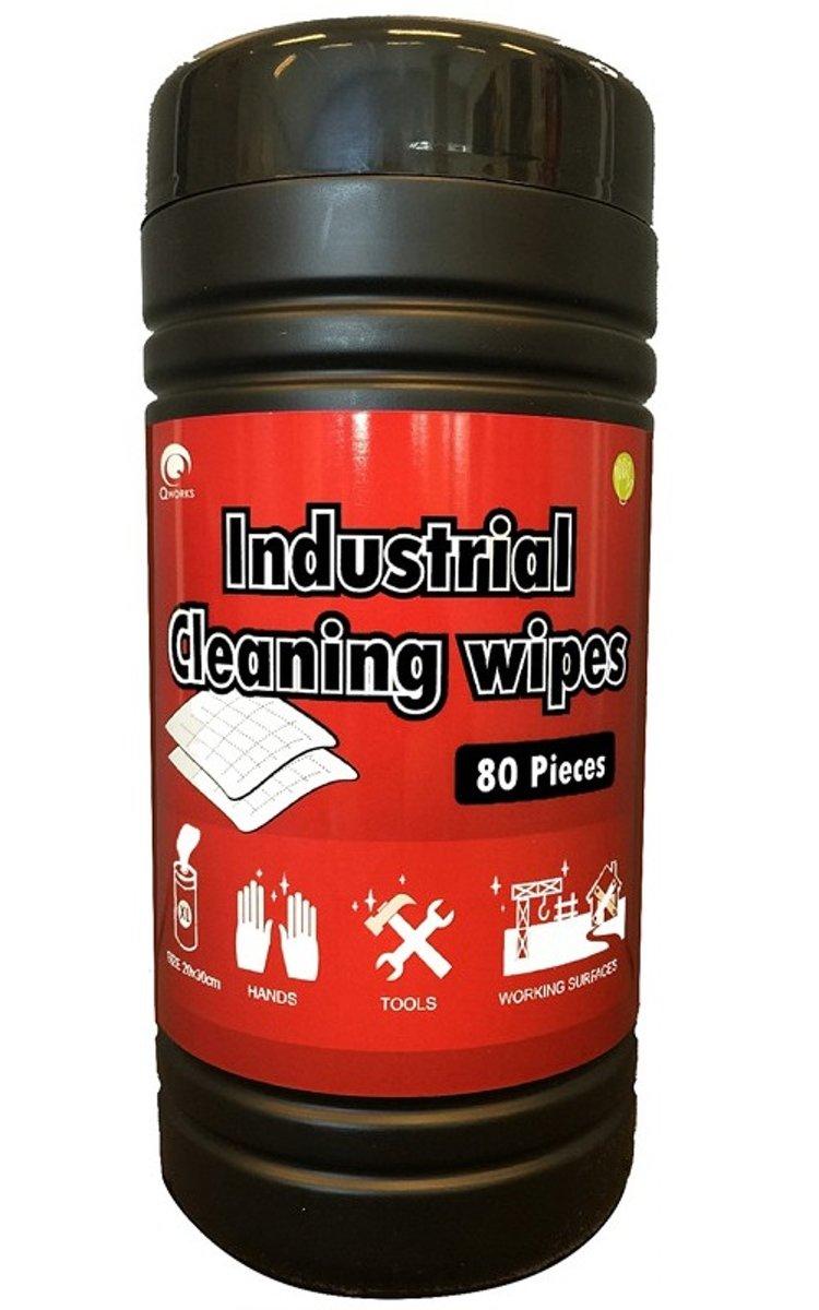 Reinigingsdoekjes Industrieel (80 stuks) kopen