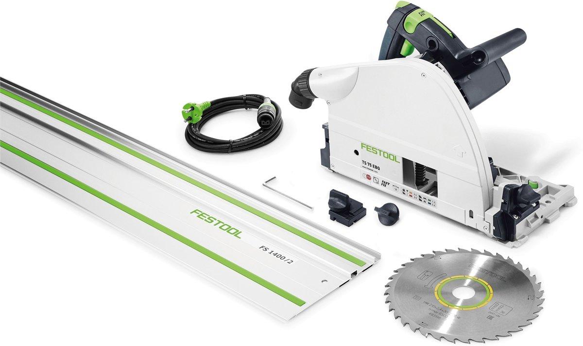 Festool Invalcirkelzaagmachine TS 75 EBQ-FS 230V 561185